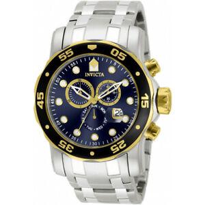 【送料無料】腕時計 プロダイバーステンレススチールクロノグラフウォッチinvicta pro diver 80041 stainless steel chronograph watch