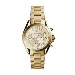 【送料無料】腕時計 ミハエルレディースミニウォッチmichael kors mk5798 ladies gold mini bradshaw watch