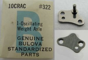 【送料無料】腕時計 #アクスルbulova 10crac watch part 322 oscillating weight axle