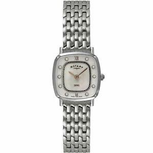 【送料無料】腕時計 ロータリーポンドrotary lb0810041 womens ultraslim wristwatch