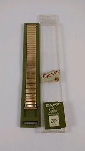 【70%OFF】 【送料無料】腕時計 レディースゴールドステンレススチールストラップウォッチtwiston ~ by speidel gold ladies gold watch strap strap ~ stainless steel ~ nos, Jam:6b57b23e --- claudiocuoco.com.br