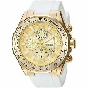 【送料無料】腕時計 シリコンクロノグラフウォッチinvicta aviator 24578 silicone chronograph watch