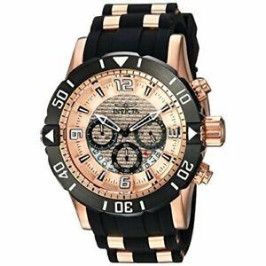 【送料無料】腕時計 プロダイバーポリウレタンステンレススチールクロノグラフウォッチinvicta pro diver 23711 polyurethane, stainless steel chronograph watch