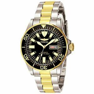 【送料無料】腕時計 メンズゴールドシルバートーンステンレススチールウォッチ7045 invicta mens signature goldtone and silver stainless steel watch