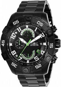【送料無料】腕時計 メンズラリーブラックステンレススチールクロノグラフウォッチ