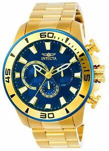 【送料無料】腕時計 #ダイバー#クォーツクロノグラフゴールドステンレススチールウォッチinvicta 22587 men039;s 039;pro diver039; quartz chronograph gold stainless steel watch