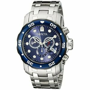 【送料無料】腕時計 プロダイバーステンレススチールクロノグラフウォッチinvicta pro diver 80057 stainless steel chronograph watch