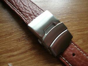 【送料無料】腕時計 メンズウォッチストラップブラウンバックル