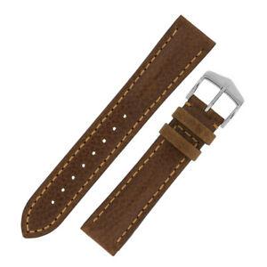 【送料無料】腕時計 ルッカトスカーナゴールドブラウンバックルカーフレザーウォッチストラップ