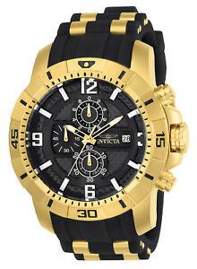 【送料無料】腕時計 メンズプロダイバーゴールドトーンステンレススチールウォッチinvicta 24965 mens pro diver quartz goldtone and stainless steel watch