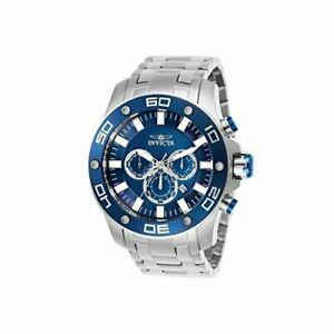 【送料無料】腕時計 プロダイバーステンレススチールクロノグラフウォッチinvicta pro diver 26075 stainless steel chronograph watch