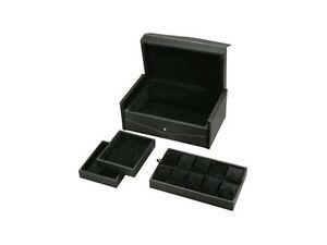 【送料無料】腕時計 ディプロマットストレージストレージファブリックスエードdiplomat ten watch storage chest with storage, carbon fiber fabric and suede