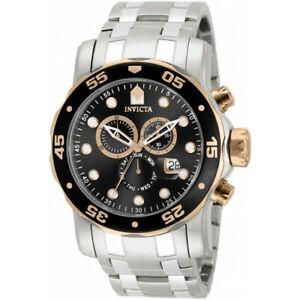 【送料無料】腕時計 プロダイバーステンレススチールクロノグラフウォッチinvicta pro diver 80036 stainless steel chronograph watch