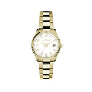 【送料無料】腕時計 ドナゴールドビアンコクラシコorologio donna lorenz ginevra 027016dd acciaio gold dorato bianco 50mt classico