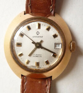 【送料無料】腕時計 スイスmontre mcanique de femme cardino swiss made suisse vers 1970