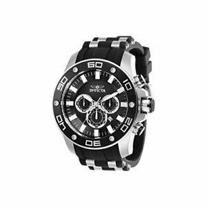 【送料無料】腕時計 プロダイバーシリコンステンレススチールクロノグラフウォッチinvicta pro diver 26084 silicone, stainless steel chronograph watch
