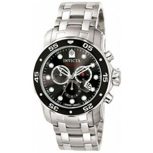 【送料無料】腕時計 プロダイバーステンレススチールクロノグラフウォッチinvicta pro diver 0069 stainless steel chronograph watch