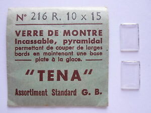 【送料無料】腕時計 ピラミッドテナフライアリービンテージ2 verres base plate pyramidal tena montre vintage horlogerie n 216 r10x15