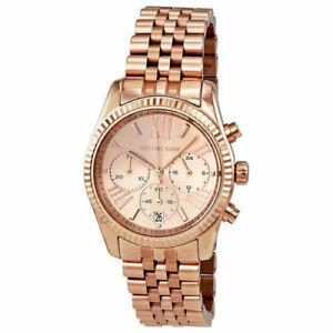 【送料無料】腕時計 ミハエルレキシントンローズゴールドクロノグラフウォッチセール womens michael kors mk5569 lexington rose gold chronograph watch