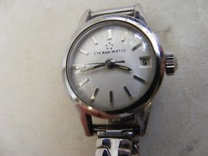 【送料無料】腕時計 レディースマティックlovely ladies eternamatic watch 1960s date feature perfect working order