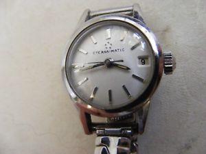 【送料無料】腕時計 レディースマティックlovely ladies eternamatic watch 1960s date feature perfect working order