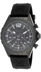 【送料無料】腕時計 ラグジュアリーリュジョダービークロノシリコーンネロorologio uomo liu jo luxury derby tlj832 chrono silicone nero