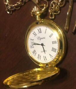 使い勝手の良い 【送料無料】腕時計 ポケットチェーンアンプローマクリップゴールドカラー#, auto-connection-shop:12a6599f --- claudiocuoco.com.br