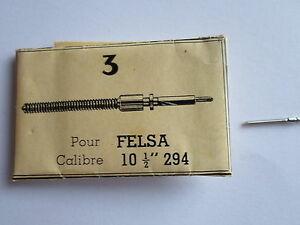 【送料無料】腕時計 ロットキャリバーlot 3 tiges remontoirs ghamp; f montre horlogerie pour felsa calibre 10 12 294