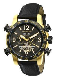 【送料無料】腕時計 シドニーゴールドエディションカレンダーneu calvaneo 1583 sydney gold edition kalender automatik traum komplikation