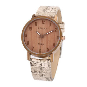 【送料無料】腕時計 ビンテージクォーツfeifan m0693 vintage wood grain waterproof quartz watch