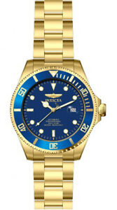 【送料無料】腕時計 メンズプロダイバーゴールドトーンステンレススチールウォッチinvicta mens pro diver automatic 200m gold tone stainless steel watch 28949