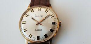 【送料無料】腕時計 ビンテージスイスジュエルメンズvintage carronade incabloc swiss made 17 jewel mens wrist watch