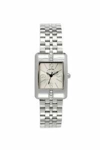 【送料無料】腕時計 プリマクラッセクリスタルステンレススチールウォッチprima classe womens pcd 965sfm crystal rectangle stainless steel watch