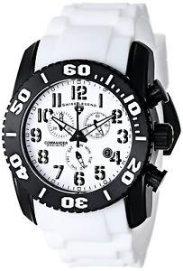 【送料無料】腕時計 スイスメンズブラックチタンケースストラップ