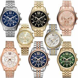 【送料無料】腕時計 ミハエルレキシントンシリーズクロノグラフステンレススティールブレスレットウォッチmichael kors lexington series gents chronograph stainless steel bracelet watch
