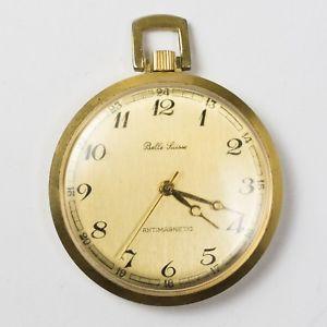 【送料無料】腕時計 ビンテージベライエローゴールドトーン