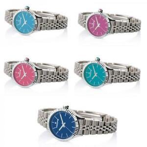 【送料無料】腕時計 フープレディーorologio donna hoops luxury bracciale acciaio colorato collezione lady