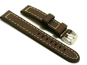 【送料無料】腕時計 レザーウォッチストラップステンレスバックル
