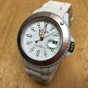【送料無料】腕時計 オリバーベゼルクオーツバッテリーs oliver men lady moving bezel ultra light quartz watch hours~date~ battery