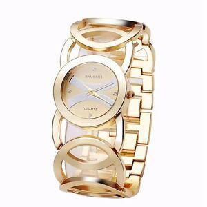 腕時計 ファッションラグジュアリークリスタルゴールドレディースカカラードレスウオッチメーカーbaosaili fashion luxury crystal gold color dress wristwatch for women ladies qua