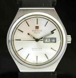 【送料無料】腕時計 ティソオートメンズウォッチスイス1972 tissot seastar automatic mens day date watch cal2571 swiss luxury vtg 70s