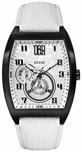 【送料無料】腕時計 ホワイトレザーストラップスポーツウォッチ