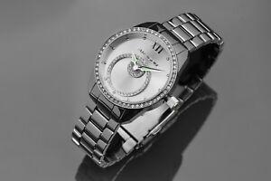 【送料無料】腕時計 アラゴンスターハローaragon a215slv starhalo 37mm