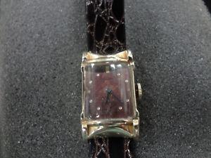 【送料無料】腕時計 メンズkゴールドa906 1950s mens bulova watch 10k gold filled yellow
