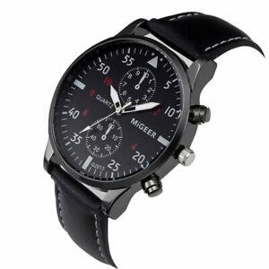 【送料無料】腕時計 トップブランドスポーツリアルウォッチオビドスmilitary watches men top brand luxury sport watch relogio masculino leather b