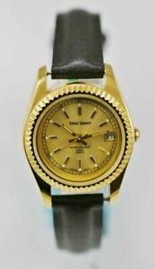 【送料無料】腕時計 タイムズスクエアステンレススチールゴールドブラックウォーター