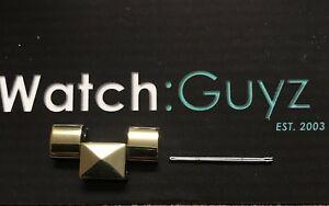 【送料無料】腕時計 ミハエルトーンピラミッドリンクピンmichael kors runway pyramid replacement gold tone watch link amp; pin mk5795