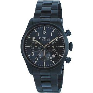 【送料無料】腕時計 クラシックフルブルグラフィカルウォッチorologio breil tribe classic elegance ew0359 acciaio watch full blu cronografo