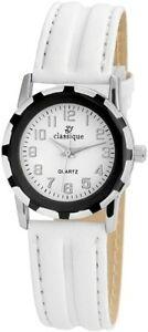 【送料無料】腕時計 クラシックレディースブラックメタルアートレザークォーツclassique damenuhr wei silber schwarz metall kunstleder quarz xrp3552200001
