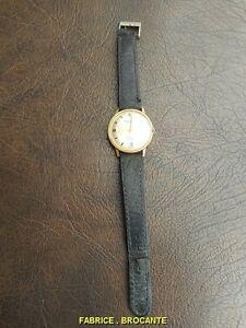 【送料無料】腕時計 ブレスレットプラークmontre bracelet remington en plaque or automatique incabloc 25 rubis